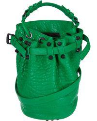 Alexander Wang Small Green Astro Pebbled Diego Bucket Bag - Lyst