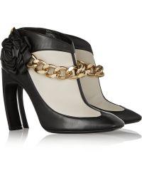 Nicholas Kirkwood Embellished Leather Ankle Boots - Lyst