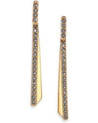 Giles & Brother | Ray Bar Pavé Crystal Ear Jacket & Stud Earrings Set | Lyst