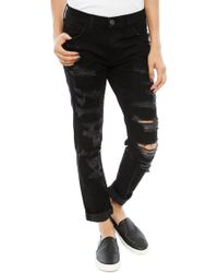 Current/Elliott The Fling Boyfriend Jean - Lyst