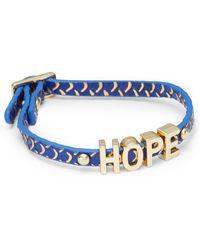 BCBGeneration - Mini Hope Affirmation Bracelet - Lyst