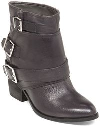 Jessica Simpson Teagan Leather Booties - Lyst
