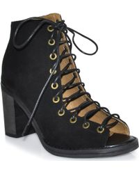 Jeffrey Campbell Cors - Lace Up Bootie - Lyst