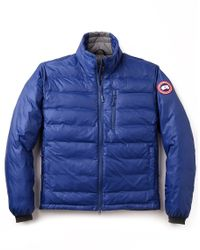 Canada Goose chateau parka replica fake - Canada goose Lodge Jacket in White for Men (Spirit) | Lyst