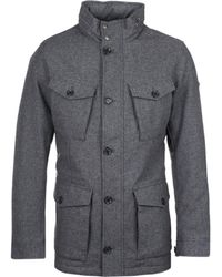 Hackett - London Herringbone Wool Jacket - Lyst