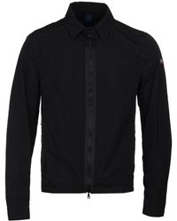 Paul & Shark - Black Zip Overshirt - Lyst