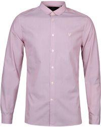 Lyle & Scott Ruby Fine Stripe Penny Collar Shirt