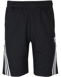 adidas Originals - Black Wrap Short - Lyst