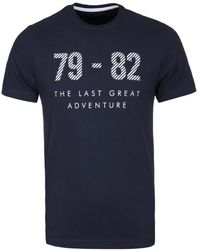 Henri Lloyd - Navy Offley Regular Graphic Tee - Lyst