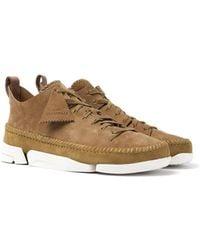 Clarks Oak Nubuck Trigenic Flex Sneakers