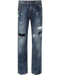 True Religion - Ejpm Ricky Flap Super T Jeans - Lyst