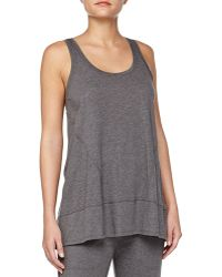 Donna Karan New York Pima Cotton Lounge Tank - Lyst