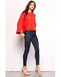 Jack BB Dakota | Claudel Wide Sleeve Sweater | Lyst