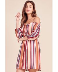 Jack BB Dakota - Eternal Sunshine Striped Dress - Lyst