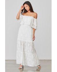 BB Dakota | Angelia Maxi Dress | Lyst