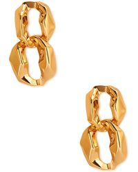 Forever 21 Rough Edged Drop Earrings - Lyst