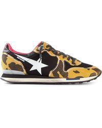 Golden Goose Deluxe Brand Leopard Print Sneakers - Lyst