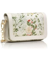 Tory Burch Robinson Printed Chain Mini Bag - Lyst