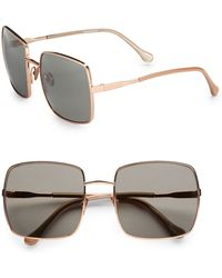 Elizabeth And James Thompson Square Metal Sunglasses - Lyst