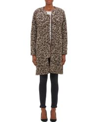 Thakoon Addition - Leopard Print Coat - Lyst