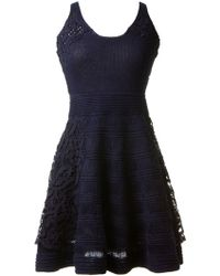 Thakoon Crochet Skater Dress - Lyst