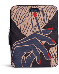 Paul Smith Cigarette Jacquard Ipad Case multicolor - Lyst