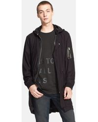 BLK DNM Hooded Parka - Lyst