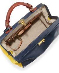Etienne Aigner - Epic Leather Large Satchel Bag - Lyst