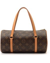 Louis Vuitton Brown Handbag brown - Lyst