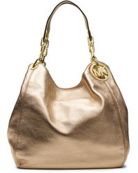 Michael by Michael Kors Fulton Leather Large Shoulder Tote Bag - Lyst