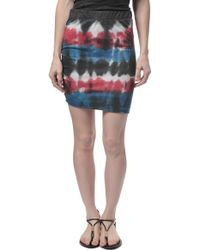 Pam & Gela Ruched Skirt - Lyst