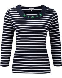 Cc Nautical Embellished Jersey Top - Lyst