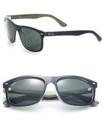Ray-Ban | Rectangle 59mm Sunglasses | Lyst