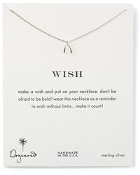Dogeared - Wish Necklace - Lyst