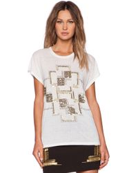 Sass & Bide Labyrinth Lady Jersey Top - Lyst