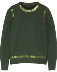 Theory Yow Doublefaced Cottonblend Sweatshirt - Lyst