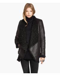 H&M Imitation Suede Jacket - Lyst