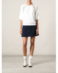 Chloé Oversized Top - Lyst