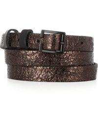 Rag & Bone Glossed-leather Belt - Lyst