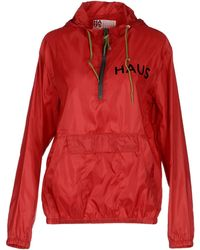 Haus By Golden Goose Deluxe Brand Jacket red - Lyst