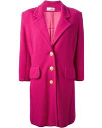 Yves Saint Laurent Vintage Knitted Overcoat - Lyst