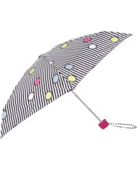 Lulu Guinness | Spot On Stripe Tiny Umbrella | Lyst