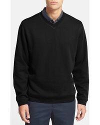 Cutter & Buck 'Decatur' V-Neck Sweater - Lyst