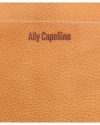 Ally Capellino - Tan Marjorie Leather Bag - Lyst