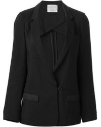 Forte Forte Fitted Blazer - Lyst