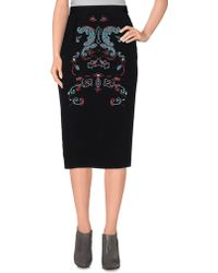 Axelle De Soie - 3/4 Length Skirt - Lyst