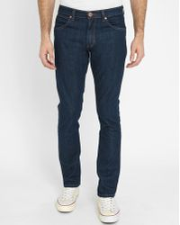 Wrangler | Dark Denim Bostin Breathable Fibre Slim-fit Jeans | Lyst