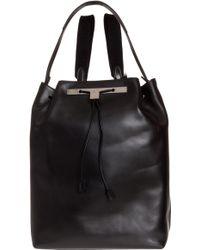 The Row Calfskin Backpack - Lyst