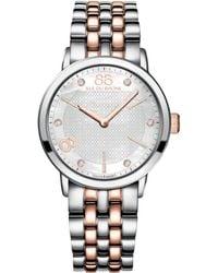 88 Rue Du Rhone - 87Wa140005 Women'S Mother Of Pearl Bracelet Watch - Lyst
