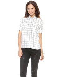 Myne   Cruz Plaid Oxford Shirt - Lyst